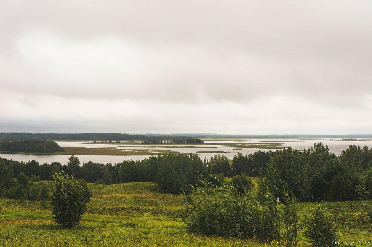 Нац парк Браславские озёра. Вид с г. Маяк